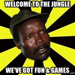 KONY THE PIMP - WELCOME TO THE JUNGLE WE'VE GOT FUN & GAMES