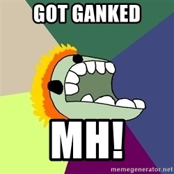 Average Dota Player - got ganked mh!
