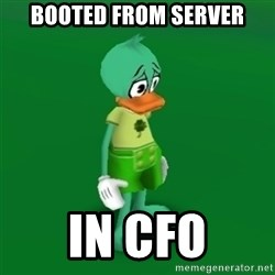 Toontown Problems - booted from server in cfo
