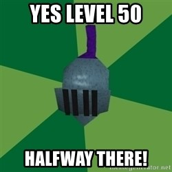 Runescape Advice - YES LEVEL 50 HALFWAY THERE!