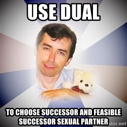 Fanatical Socionic - USE DUAL to choose Successor and Feasible successor sexual partner