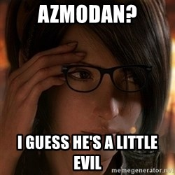 Hipster Leah - azmodan? i guess he's a little evil