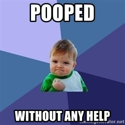 Success Kid - pooped without any help