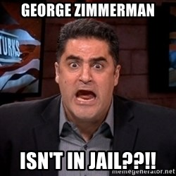 Angry Cenk - George Zimmerman isn't in jail??!!