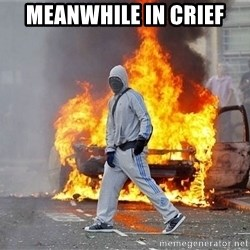 London Riots - Meanwhile in Crief