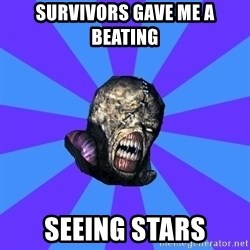 Rhyming Nemesis - survivors gave me a beating seeing stars