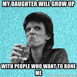 Disturbed Bowie - My daughter will grow up with people who want to bone me