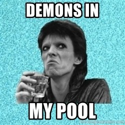 Disturbed Bowie - demons in my pool