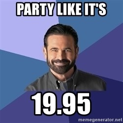 Billy Mays - PARTY LIKE IT'S 19.95