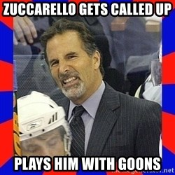Torts Logic - Zuccarello gets called up plays him with goons