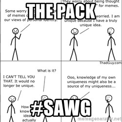Memes - the pack #sawg