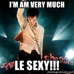 Successful Brendon - I'm am very much LE SEXY!!!