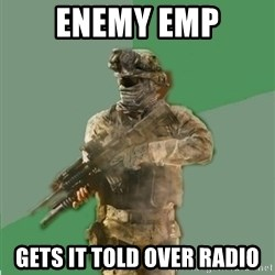 philosoraptor call of duty - enemy emp gets it told over radio