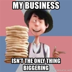 Aroused Once-ler - My business isn't the only thing biggering