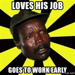 KONY THE PIMP - Loves his job Goes to work early