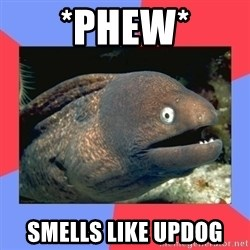 Bad Joke Eels - *phew* smells like updog