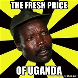 KONY THE PIMP - the fresh price of uganda