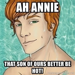Finnick Odair - AH Annie That son of ours better be HOt!