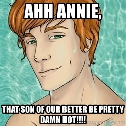 Finnick Odair - AHh annie, that son of our better be pretty damn hot!!!!