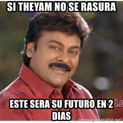 Typical Indian guy - Si Theyam no se Rasura este sera su futuro en 2 dias