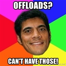 Supercoach Kearney - Offloads? Can't have those!