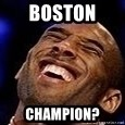 Kobe Bryant - Boston  Champion?