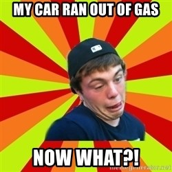Jake the Rake - my car ran out of gas NOW WHat?!