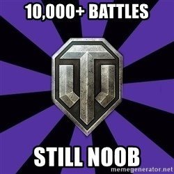 World of Tanks - 10,000+ battles still noob