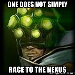 Master Yi - ONe Does not simply race to the nexus