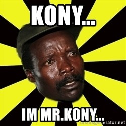 KONY THE PIMP - kony... im mr.kony...