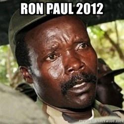 Good Guy Joe Kony - Ron Paul 2012
