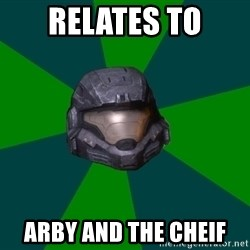 Noble Six - relates to arby and the cheif
