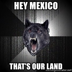 Insanity Wolf - Hey mexico that's our land