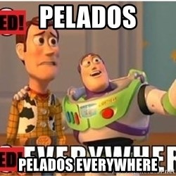Toy Story Everywhere - PELADOS PELADOS EVERYWHERE