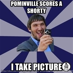 typical_hockey_player - pominville scores a shorty i take picture