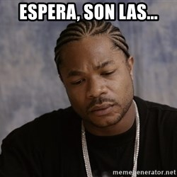 Sad Xzibit - espera, son las...