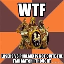 Age of Empires '97 - wtf lasers vs phalanx is not quite the fair match i thought