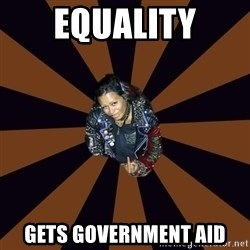 Hypocritcal Crust Punk  - EqualitY Gets government aid