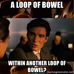 Inception Meme - a loop of bowel within another loop of bowel?