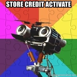 Asperger Robot - store credit activate