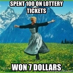 IDGAF - Spent 100 on lottery tickets won 7 dollars