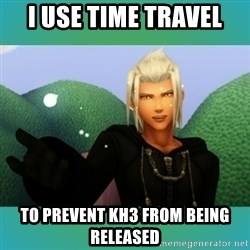 Trollanort - i use time travel to prevent kh3 from being released