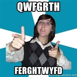 Cool Scottish Girl - qwfgrth ferghtwyfd