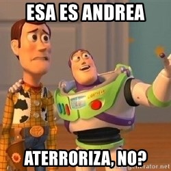 Consequences Toy Story - ESA ES ANDREA ATERRORIZA, NO?