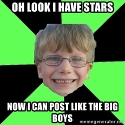 Funny Stupid - Oh look I have stars Now I can post like the big boys