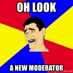 journalist - oh look a new moderator
