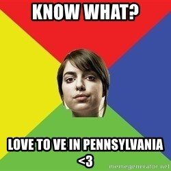 Non Jealous Girl - KNOW WHAT? LOVE TO VE IN PENNSYLVANIA <3