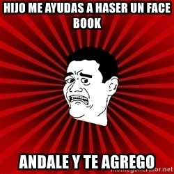 Afraid Yao Ming trollface - hijo me ayudas a haser un face book andale y te agrego
