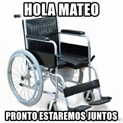 wheelchair watchout - hola mateo pronto estaremos juntos