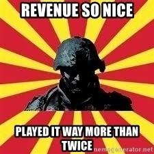 Battlefield Soldier - Revenue so nice played it way more than twice
